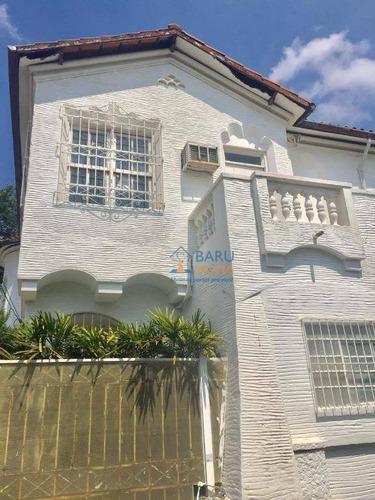 Sobrado Com 3 Dormitórios À Venda, 445 M² Por R$ 3.900.000,00 - Higienópolis - São Paulo/sp - So3546