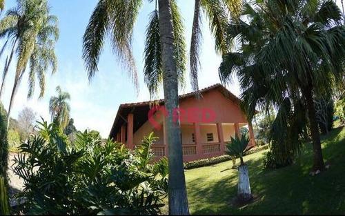 Chácara Com 5 Dormitórios À Venda, 5000 M² Por R$ 1.350.000,00 - Jardim Flamboyant Ii - Boituva/sp - Ch0027