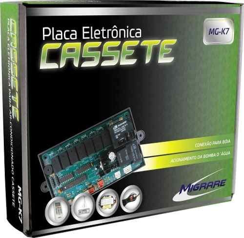 Placa Universal Cassete K7 Mg-k7 Kit Completo C/ Controle