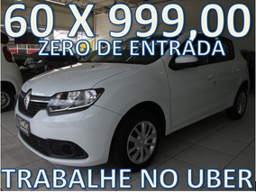 Renault Sandero 1.6 Completo Zero De Entrada + 60 X 999,00