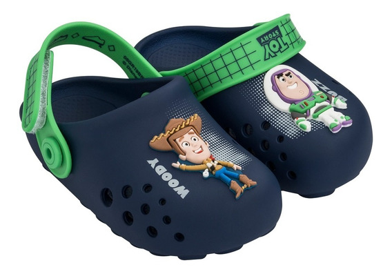 Sandália Babuche Infantil Menino Disney Toy Story Azul 22078