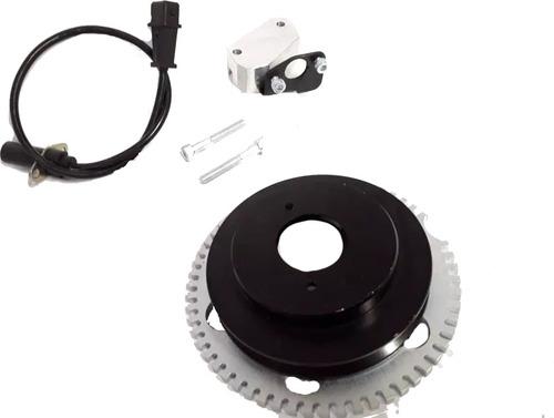 Polia Roda Fônica Preta Gm Chevette Marajó Chevy 500 Sensor