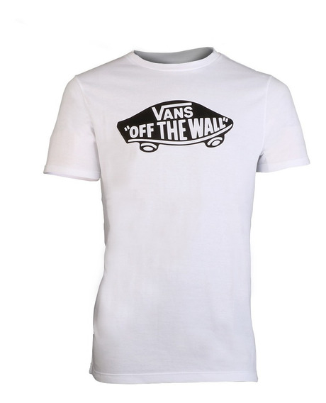 Remera Vans Off The Wall Blanca Hombre