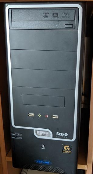Pc Gamer Cpu I5 3470, 16gb Ddr3, Ssd 500gb, Gt 640 2gb - Top