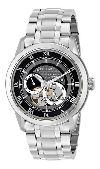 Relógio Bulova Masculino Automatic 96a119