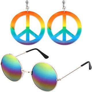 Bemo Hippie Juego De Accesorios De Tocador 1 Par De Pendient