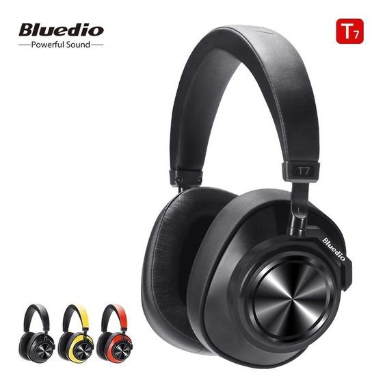 Fone De Ouvido Bluedio T7 Microfone Sem Fi Headphone Cart Sd