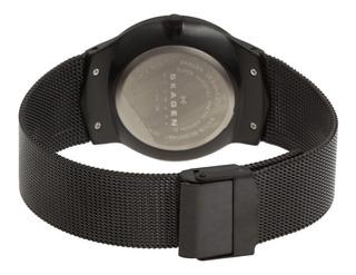 Reloj Skagen Para Hombre 809xltbb Denmark Tablero Negro
