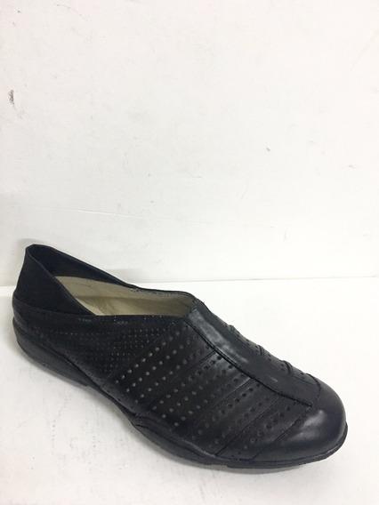 Zapatillas Cuero Mujer Números Grandes Y Chicos Lilian Kerr