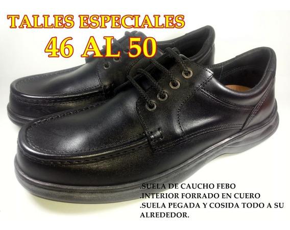 Zapato De Vestir De Hombre Talle Grande (46-47-48-49-50)