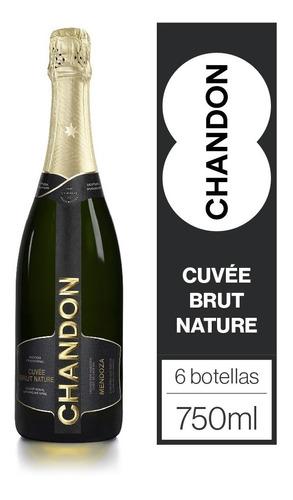 Imagen 1 de 5 de Chandon Brut Nature Caja 6u X 750ml