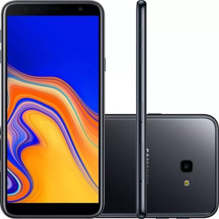 Celular Samsung J4 Plus Preto 32gb 2g T6+pelicula+capinha
