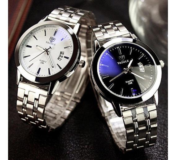 Relógio Yazole Empresário Quartzo Masculino