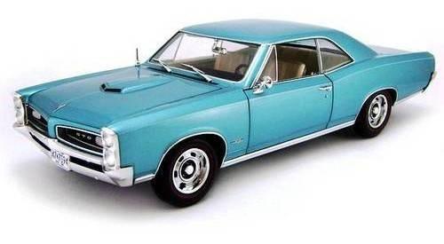 1966 Pontiac Gto Hard Top Turquesa - Escala 1:18 - Highway61