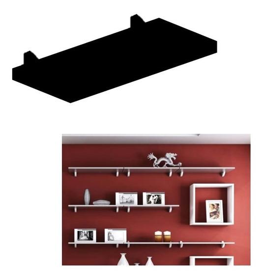 Prateleira Concept Parede 40x20cm Porta Retratos Quadros Livros Brinquedos Madeira Mdp Pratk