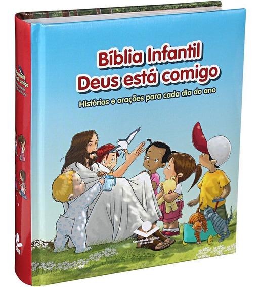 Bíblia Infantil Deus Está Comigo | Sbb