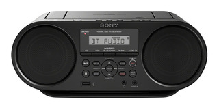 Radio Reproductor Sony Boombox Cd Y Bluetooth -zs-rs60bt