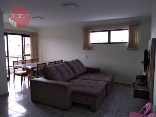 Apartamento Com 3 Dormitórios À Venda Por R$ 330.000 - Jardim Paulistano - Ribeirão Preto/sp - Ap3890