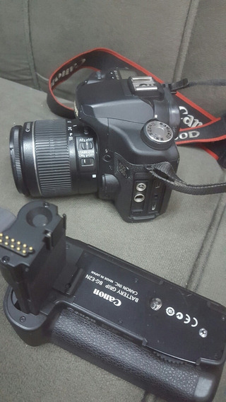 Câmera Canon 50d, Battery Grip Bg-e2n E Bateria Canon Bp511a