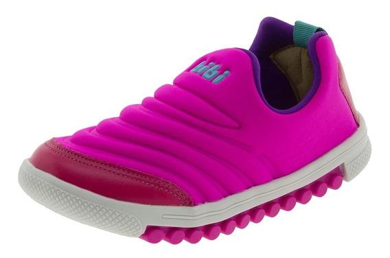 Tênis Infantil Feminino Roller New Pink Bibi - 67936