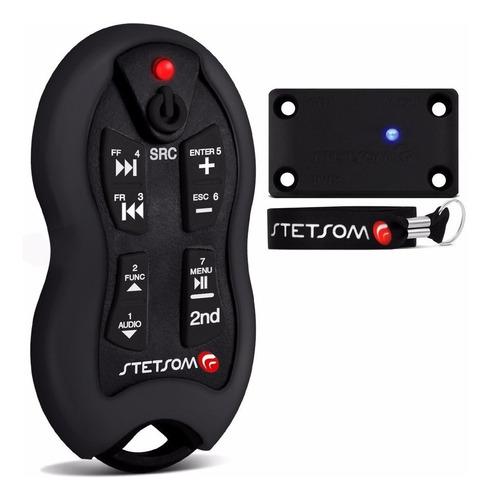 Control Remoto Stetsom Sx2 Negro 500 Metros De Alcance