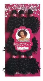 Cabelo Orgânico Mega Hair Cacheado Aplique 23cm 200g