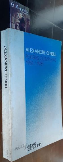 Poesias Completas 1951/1981 - Alexandre O
