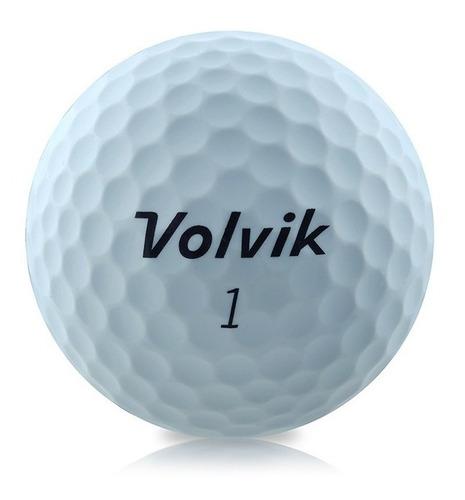 Pelotas Golf Vivid Xt Volvik Blanca