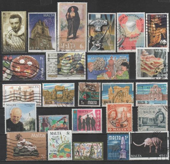 Malta - Coleção De Selos Diferentes - 7699