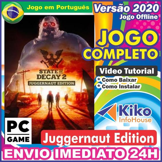 State Of Decay 2 Jugernault Edition Pc Digital Br + Brinde