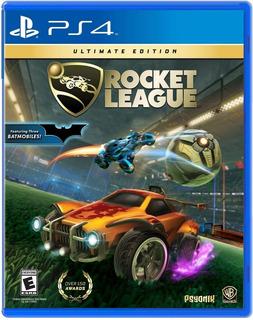 Rocket League / Ultimate Edition / Juego Físico / Ps4