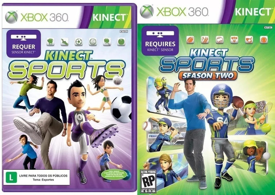 Kinect Sports - Xbox 360 2 Mídias
