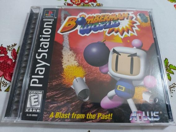 Bomberman World Original Americano Playstation One Ps1