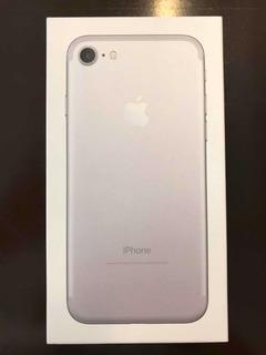 Caja De iPhone 7 Silver 32gb - Original Excelente Estado