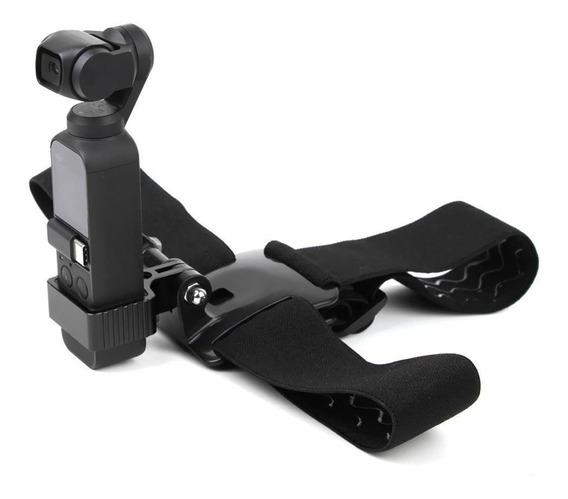 Adaptador De Liga De Alumínio Câmera Headband Alça Para G