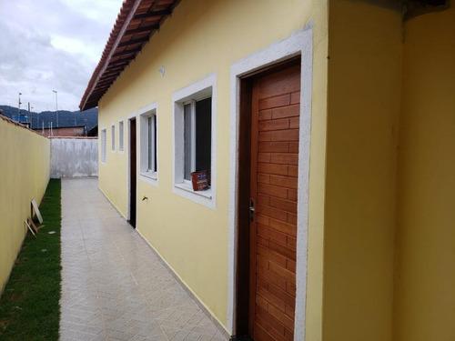 Casa Com 2 Dormitórios À Venda, 65 M² Por R$ 160.000 - Nova Itanhaém - Itanhaém/sp - Ca0792