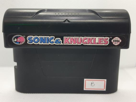 Sonic And Knuckles Original Sega Mega Drive Genesis Ref.b