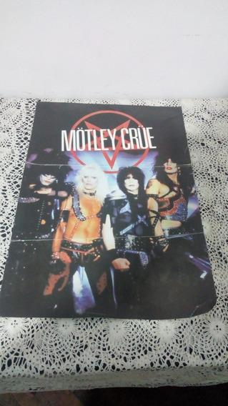 Poster De Colección Mötley Crüe