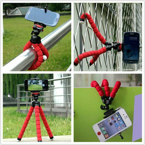 Tripe Flexivel Para Câmera Digital E Celular Zerado