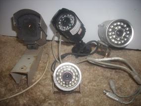 Kits Com /4 Camera Falsas /antigas Leds /sortidas /s/test