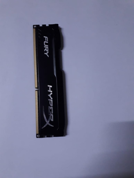 Memoria Kingston Hyperx Fury Black 4gb - Ddr3