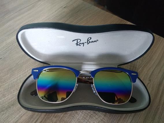 Oculos De Sol Ray Ban Rb3016 Clubmaster 1223/c4