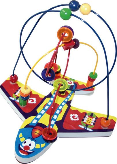 Brinquedo Aramado Infantil Avião Educativo Menino Menina