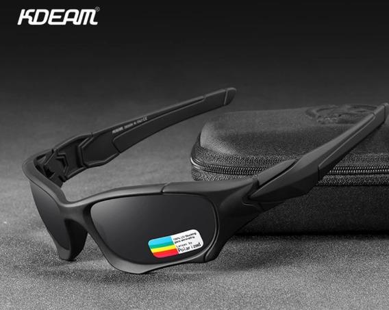 Óculos Esportivo Kdeam Polarizado Com Box .