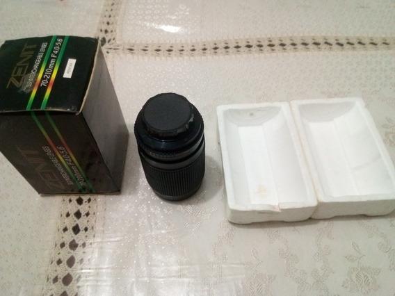Lente Zenit Mc Auto Zoom 70x210mm 52 Máquina Fotografia