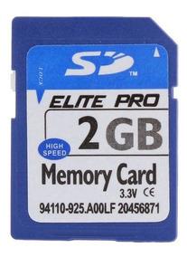 Cartão De Memoria Sd 2gb 80x Para Nikon D50 Com Nfe