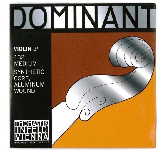 Cuerda 3 De Violin Dominant Thomastik 132 D Re
