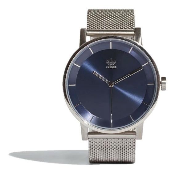 Reloj adidas Originals Unisex Plateado District M1 Cj6325