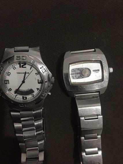 Relógio Técnicos T205 .ae + Relógio Citizen Edição Limitada