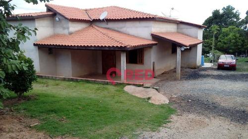 Chácara Com 2 Dormitórios À Venda, 2500 M² Por R$ 350.000,00 - Araçoiabinha - Iperó/sp - Ch0021